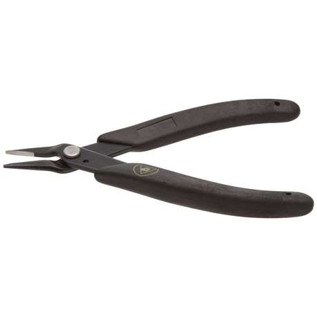 Xuron 485SAS Long Nose Plier - Serrated with Static Control Grips
