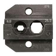 Rennsteig 624075301 6mm² - 25mm² Crimping Die & Locator