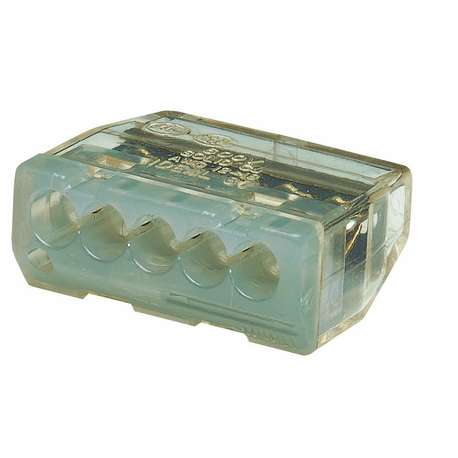 IDEAL 30-087 5 PORT IN-SURE PUSH-IN -GREY (BOX of 50)