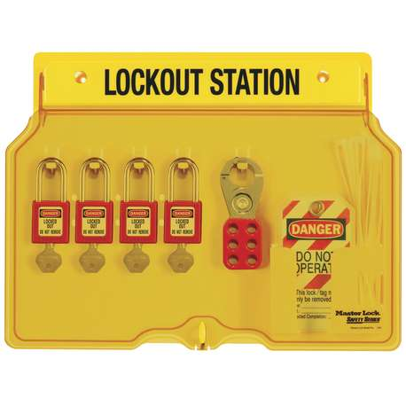 IDEAL 44-778-SO LOCK STATION - 5-10 LOCKS (STATION ONLY)