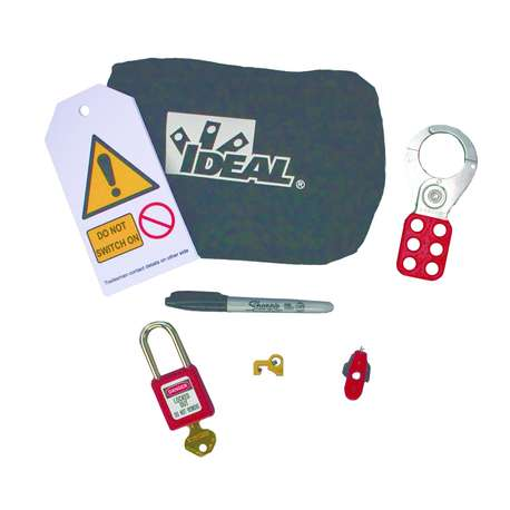 IDEAL 44-924 LOCKOUT / TAGOUT - DOMESTIC INSTALLER KIT