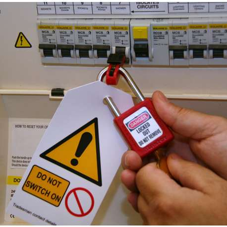 IDEAL 44-985UK LOCKOUT / TAGOUT - CONTRACTOR KIT