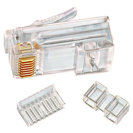 IDEAL 85-366 CAT 6 RJ-45 MODULAR PLUGS (BOX of 25)