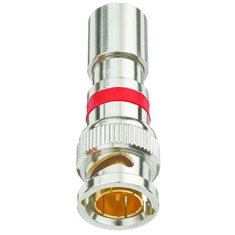 IDEAL 89-047 INSITE RG-59 COMPRESSION CONNECTOR - BNC (CARD of 15)