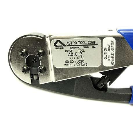 Astro A810-3 CRIMP TOOL, 30 AWG.-MICRODOT