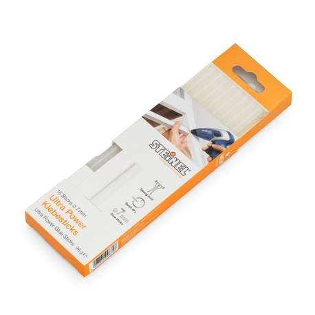 Steinel 7mm Ultra Power Glue Sticks (40 Pack 240g)