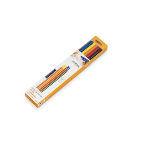 Steinel 11mm Colour Glue Sticks (10 Pack 250g)