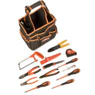 Bahco 4750FB3-12TS100 13 Piece Electricians Tool Kit Tool Kit in Bag
