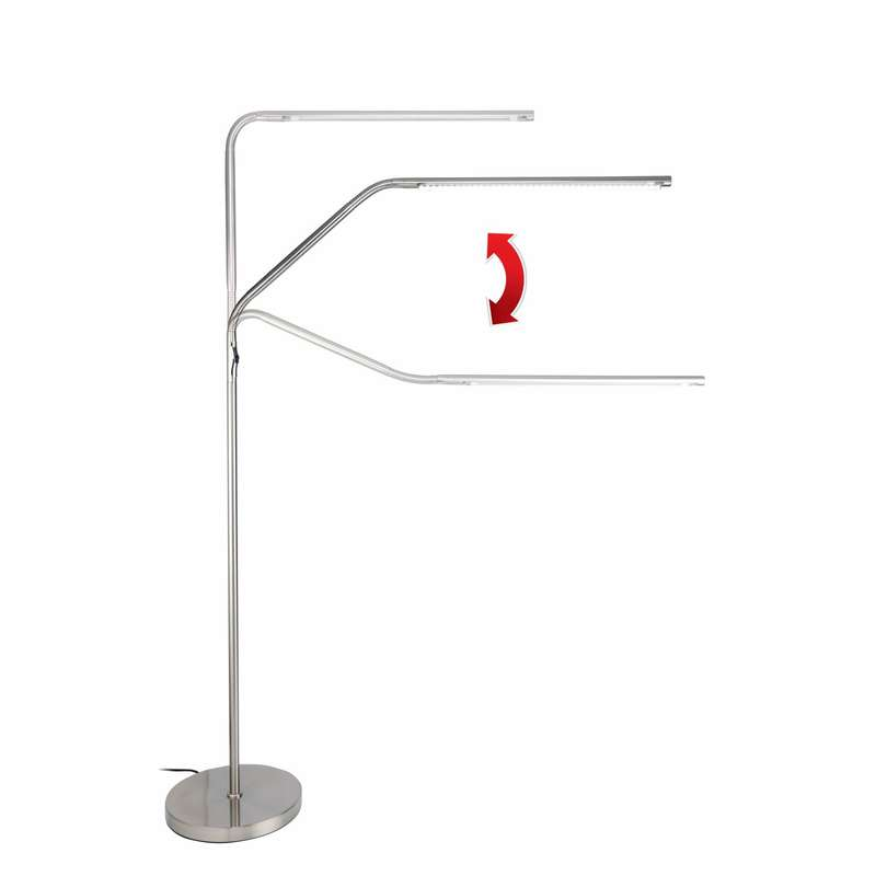 Daylight D35117 Slimline Led Floor Lamp Heamar