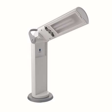Daylight D33700 Twist Portable Lamp, White