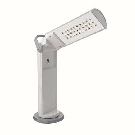 Daylight D35700 Twist Portable LED Lamp, White