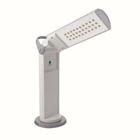 Daylight D35700 Twist Portable LED Lamp, White