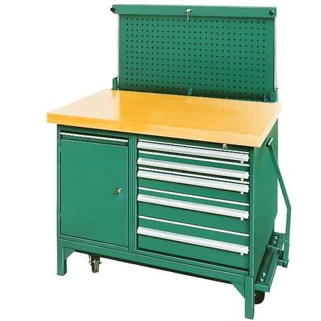 Stahlwille 85030003 MOBILE WORKBENCH WITH CHASSIS