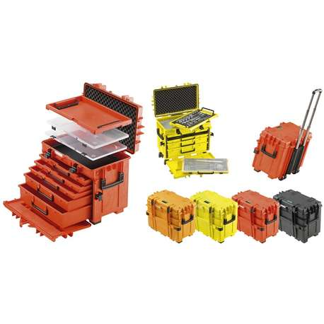 Stahlwille 81091304 13217 Tool trolleys Red
