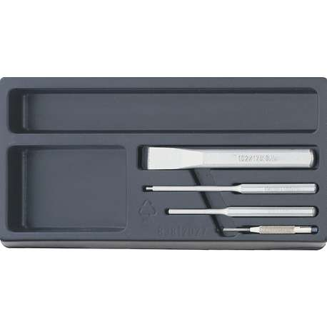 Stahlwille 96838123 ES 102/108/109/4. CHISEL SET IN PLASTIC TRAY