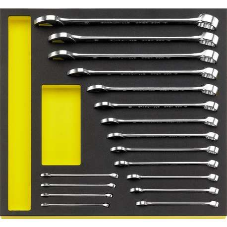 Stahlwille 96830351 TCS Combination Spanner Set – 17 Pieces