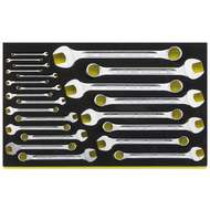 """Stahlwille 96830885 3/16"""" - 1 1/8"""" TCS Combination Spanner Set – 23 Pieces"""