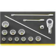Stahlwille 96830221 TCS 55/10/5 TCS SOCKET SET IN TCS INLAY