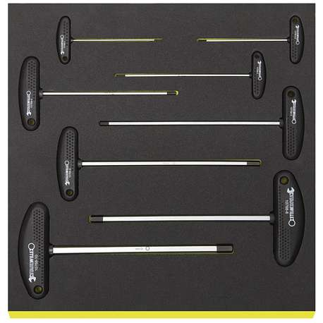 Stahlwille 96838786 TCS 10768/8 TOOL SET IN TOOL-CONTROL TRAY-SYSTEM