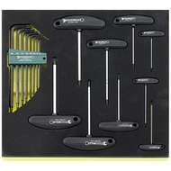17 Offset Screwdrivers in TCS Inlay