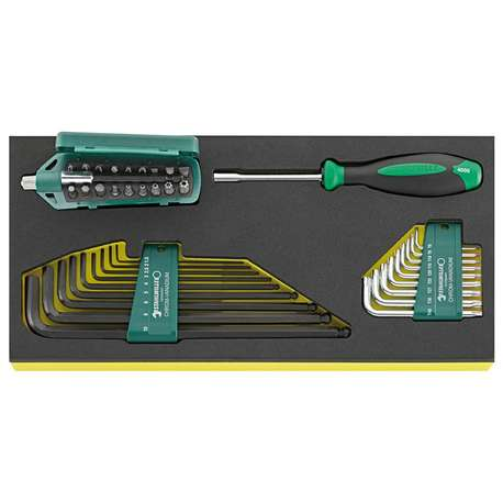 Stahlwille 96838768 TCS 1201/4000/10766/38 TOOL SET IN TCS INLAY