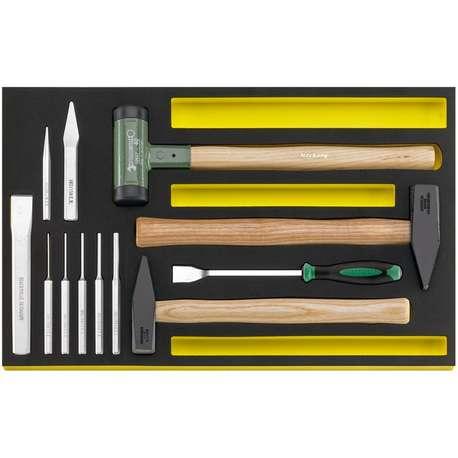 Stahlwille 96830355 TCS 102-108/10957/10960 MF HAMMER, chisels etc. in TCS inlay
