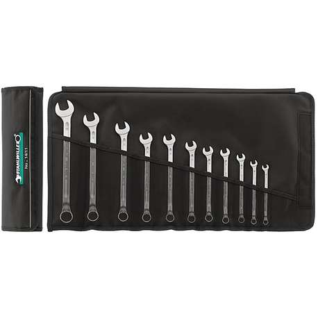 Stahlwille 96401005 6mm - 22mm Combination Spanner Set – 17 Pieces