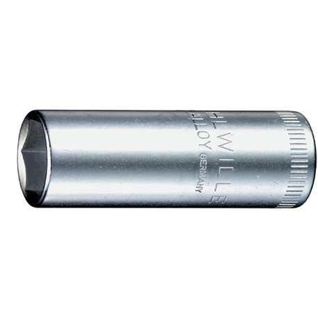 "Stahlwille 1020006 6mm x 1/4"" Deep Hex Socket"