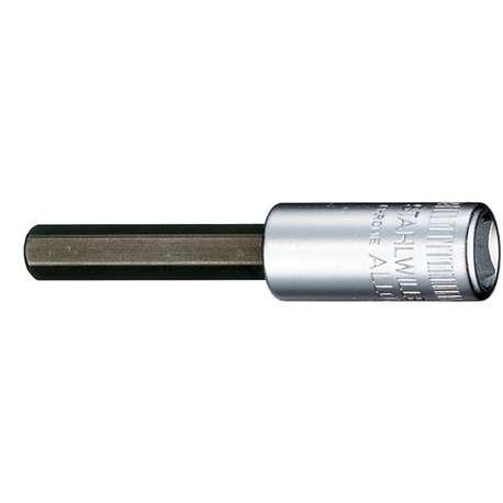 "Stahlwille 1050006 6mm x 1/4"" Socket for Hex Head Screws"