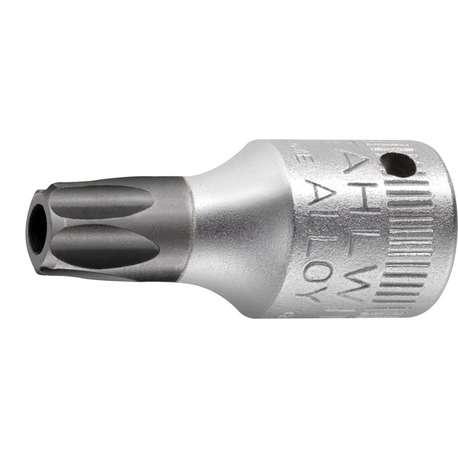 """Stahlwille 1351008 T8 x 1/4"""" Socket for Torx Tamper-Resistant Head Screws"""