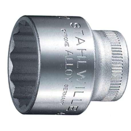 """Stahlwille 2010022 22mm x 3/8"""" Bi-Hex Socket"""