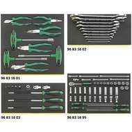 Stahlwille 97830822 1120/2 TCS TOOL SET IN TOOL-CONTROL TRAY-SYSTEM