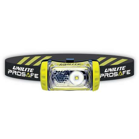 Unilite PS-H4 200 Lumen Cree LED Headlight With Helmet Mount