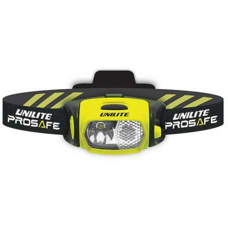 Unilite PS-H7R 350 Lumen LED Rechargeable Headlight With 2 Helmet Mounts