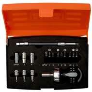 Bahco 808050S-18 18 Pcs Stubby Ratcheting Set