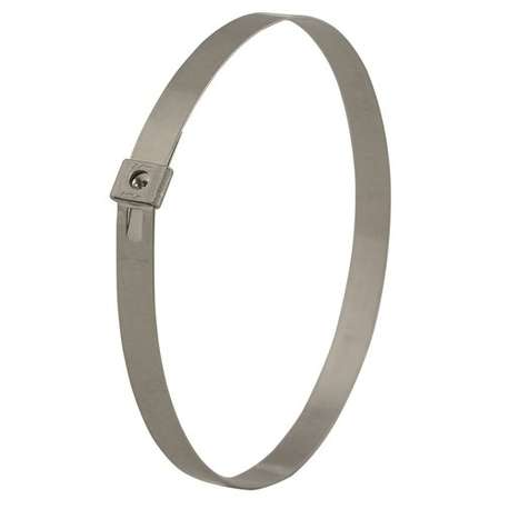 Band-It AS2139UK Tie-Lok Tie 6.4mm W x 572mm L 304 SS (Pack Of 100)
