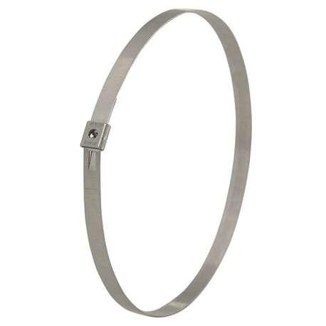 Band-It AS2259UK Mini Tie-Lok Tie 4.5mm W x 737mm L 304 SS (Pack Of 100)