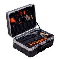 Bahco 984010320 32 Pieces tool set within a rigid case on wheels