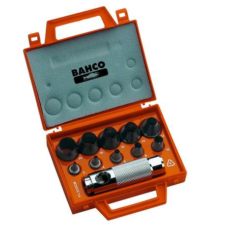 Bahco 400.003.020 Wad punch set, 11 pieces
