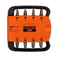 Bahco 59S/17-2 17pcs bits set for TORX® screws and bit holder