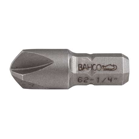Bahco 70S/TS1/4 Bit for slotted head screws, for TORQ-SET®, in plastic box of 5 pcs