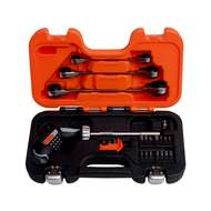 Bahco 808050P-25 25 pcs Pistol Grip Ratcheting Screwdriver Set