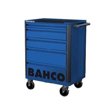 Bahco E72 Storage Hub 5 Drawer Trolley - Blue RAL5002