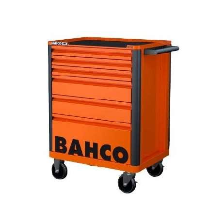 Bahco E72 Storage Hub 6 Drawer Trolley - Orange RAL2009