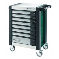 Stahlwille 81200065 95VA/8G Green TTS Tool Trolley with Eight Drawers