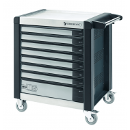 Stahlwille 81200112 98VA/8A Anthracite Grey TTS Tool Trolley with Eight Drawers