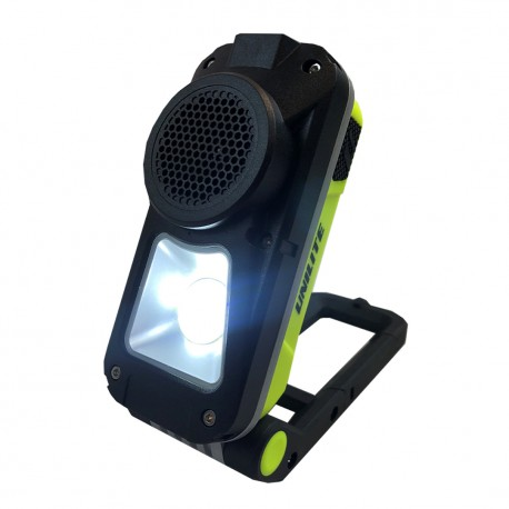 Unilite SP-750 Rechargeable Speaker Work Light