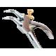 Bahco 2466 B40 40mm - 100mm Offset External Circlip Pliers