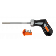 Bahco 808050P 135mm Pistol Grip Ratchet Screwdriver