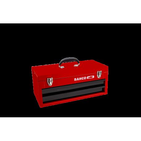 Bahco 1483K2RB Two Drawer Metallic Tool Box
